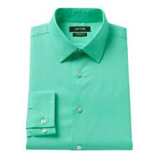 fc4a228626b81 Apt. 9 Men's Long Sleeve Dress Shirt Flex Slim Fit Stretch 16 1/2