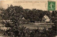 CPA   Saint-Denis-sur-Sarthon - L'Etang - Le Chalet   (356367)
