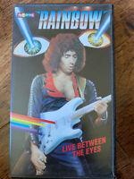 Rainbow Live Between the Lines VHS 1982 Progrock Spectrum Pre-Cert Video