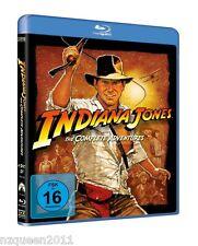 Indiana Jones The Complete Adventures [Blu-ray] Harrison Ford * NEU & OVP *