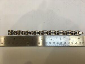 Men's Titanium & Stainless Steel Bracelet