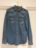 Diesel Denim Shirt Size Small 100% Cotton Authentic With Tags RRP £160
