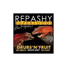 REPASHY GECKO GRUBS 'N' FRUITS MRP DIET / FOOD 12oz / 340g
