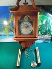 SETH THOMAS WALL CLOCK ROXBURY CAT. # 2742A MODEL NO.  E475-001 FOR PARTS/REPAIR