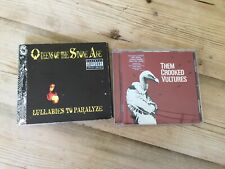 Music Cd X 2. Crooked Vultures And Queens Of The Stone Age