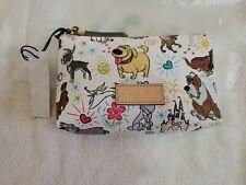 Disney Dogs Cosmetic Case pouch Dooney & Bourke zero castle doug up Peter pan