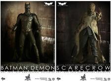 The Dark Knight 12 Inch Doll Figure MMS - Batman Demon & Scarecrow Box Set