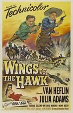 WINGS OF THE HAWK Movie POSTER 27x40 Van Heflin Julie Adams Abbe Lane George