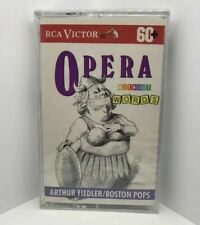 Opera Without Words Arthur Fiedler/Boston Pops (1992) Cassette Tape Sealed New
