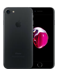 LOCKED Apple iPhone 7 - 128GB - Black | Device Only