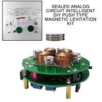 New Sealed DIY push type magnetic levitation Kit of analog circuit intelligent