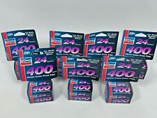7 Rolls of Max 400 Speed Color Film - 24 Exposure Each Exp 01/2006 - NEW IN BOX