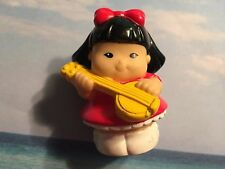 FISHER PRICE LITTLE PEOPLE  4TH OF JULY HTF SONYA LEE W BANJO INSTRUMENT