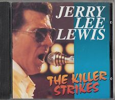 Jerry Lee Lewis - The Killer Strikes CD -Arc Records Collection - Best Of