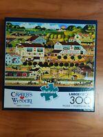 Charles Wysocki Amish Country 300 Piece Jigsaw Puzzle Buffalo Games New Sealed