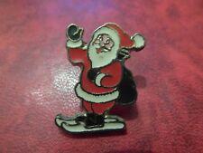 RARE PINS PIN'S - PERE NOEL A SKI - CADEAUX - SANTA CLAUS - CHRISTMAS - HIVER