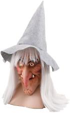 DONNA UOMO DA HALLOWEEN STREGA CAPELLI Cappello Costume vestito maschera