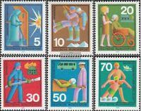 BRD (BR.Deutschland) 629-634 (kompl.Ausgabe) gestempelt 1970 Hilfsdienste
