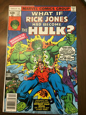 WHAT IF #12 The Hulk (1978) CLASSIC BRONZE AGE!!
