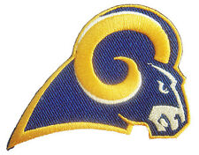 New NFL Los Angeles LA Rams Logo Football embroidered iron on patch. (i6)