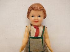 MES-62228Ältere ARI Kunststoff Puppe H:ca.15cm mit Schlafaugen,