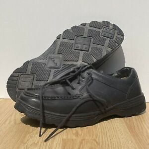 Clarks Black Cushion Cell Shoes Size 11 H Extra Wide