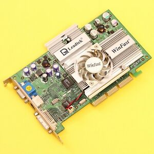 Leadtek Winfast A250 LE NVIDIA GeForce 4 Ti 4200 AGP 64MB Video Card DVI/VGA/TV
