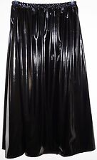 Lack-Rock lang Gr.50/52/54/56 - PVC-skirt long UK 24,26,28,30 US 2X,3X,4X