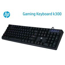 HP K300 Mechanical PC LED Backlit Gaming & Office USB Wired Keyboard US Layout