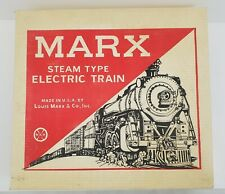 Marx Steam Type Electric Train Set 52282 with Manual Marx Switches