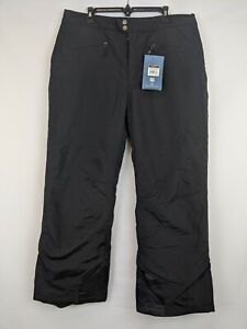 White Sierra Toboggan Insulated Pant, Black, Women's 1X