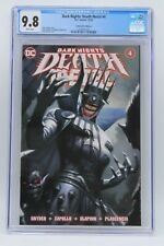 Dark Nights Death Metal (2020) #4 Ryan Brown CE Trade CGC 9.8 Blue Lbl White Pgs