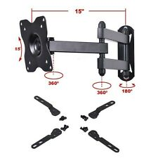 "Tilt Swivel TV Monitor Wall Mount Bracket for 19""-39"" VIZIO LED Articulating MLK"