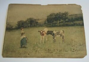 """VICTORIAN WATERCOLOUR PAINTING.  14"""" x 10"""""""