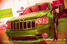 ORACLE for Jeep SRT8 08-10 RED LED TRIPLE Head/Foglight Halo Angel Demon Eye Kit