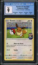 Pokemon Futsal Collection 002/005 Eevee On The Ball CGC 9 Mint