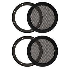"2 Goldwood Sound SG-M5 Steel Mesh Snap On Woofer Grills for 5.25"" Speakers"