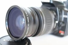 Macro Wide Angle Lens for Canon Eos Digital Rebel t5/6/7/sl2 XTi w/18-55 IS III