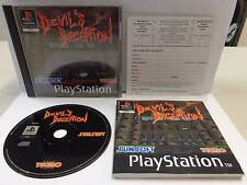 Gioco Game PS1 Playstation PSOne PSX Play PAL DEVIL'S DECEPTION - Sunsoft TECMO