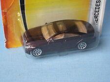 Matchbox Mercedes-Benz CLS Saloon Maroon Body 70mm Toy Model Car in BP