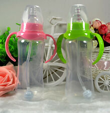 New Infant Baby Silicone Feeding With Spoon Feeder Food Rice Cereal Bottle 1Pcs