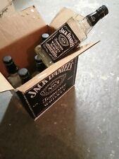 6 X Leere Jack Daniels Old Nr. 7 Flaschen 0,7l - Super Deko für die Bar !!!