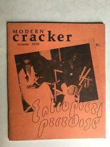 MAIL ART Modern Cracker zine Autumn 1979 Darryl Vance Walton Harris Walltone