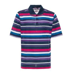 Paul Shark Poloshirt mehrfarbig gestreift Neu mit Etikett XXL