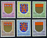 LUXEMBOURG timbres/Stamps Yvert et Tellier n°570 à 575 (z) n** (cyn8)