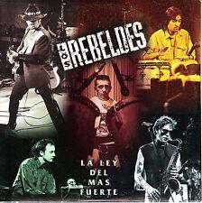 CD SINGLE los REBELDES la ley del mas fuerte SPANISH 1995  ROCKABILLY
