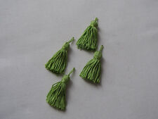 COLLANA KEY/CUSHION TASSEL LIME SMALL x 4, for lounge bedroom trimmings