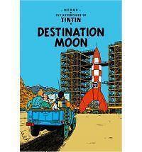 Destination Moon by Herge (Hardback, 2003)