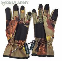 Percussion Real Tree ® Gloves Ghost Camo Shooting Hunting Gloves Realtree