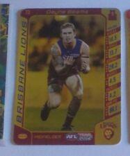 2016 Teamcoach Gold & Silver code card #73 Dayne Beams - Brisbane lions